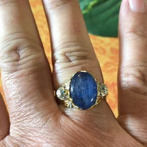 Gorgeous Kyanite Sterling Silver Ring